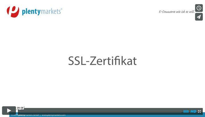 SSL-Zertifikat bestellen