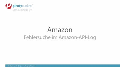 Amazon // API-Log