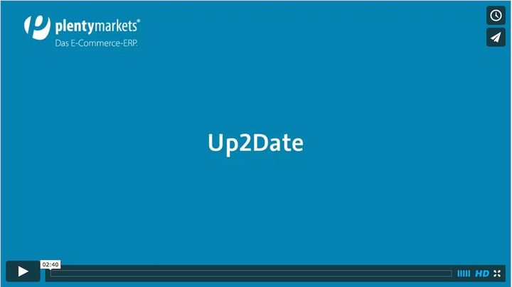 plentymarkets // Up2Date